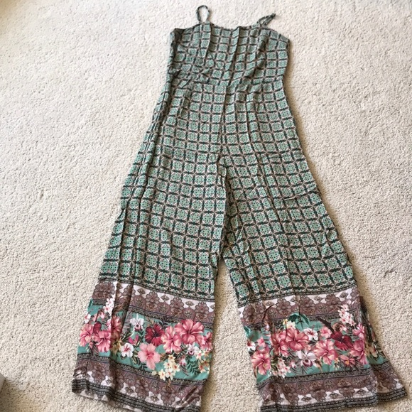 Anthropologie Pants - Anthropologie Farm pantsuit